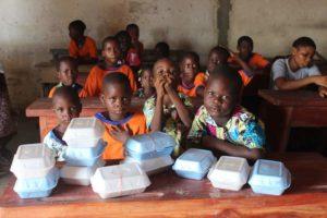 Enfants vulnérables assistés par ONG FAITH