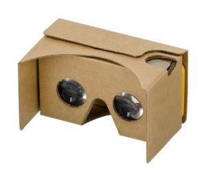 casque VR fait en carton